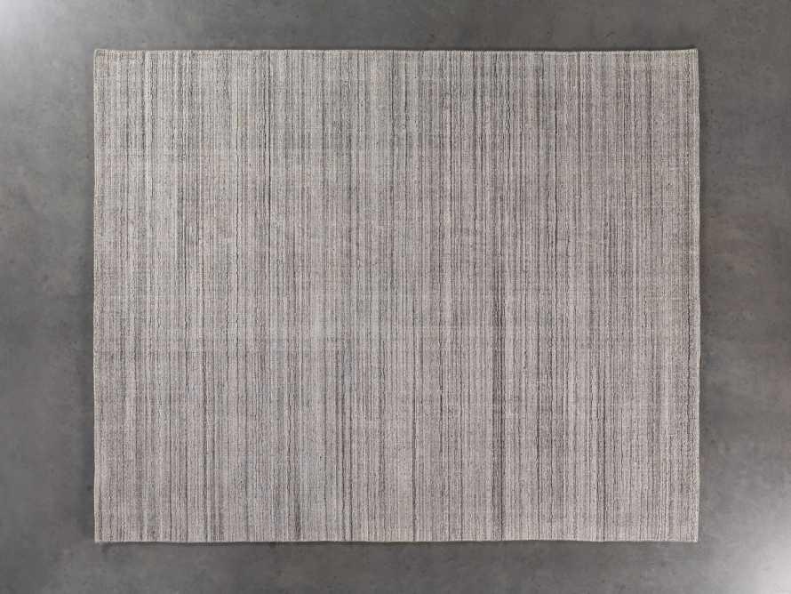 Lassen 6x9 Handwoven Rug in Charcoal, slide 2 of 4