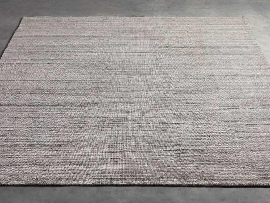 Lassen 6x9 Handwoven Rug in Charcoal, slide 3 of 3