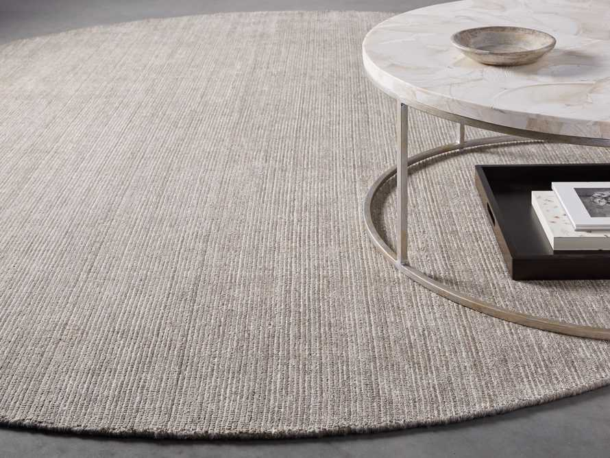 Jackson 10' Round Rug in Brown
