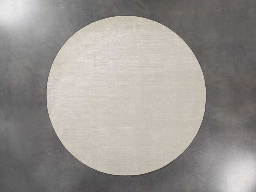 Jackson Round Rug in Cream, slide 2 of 3
