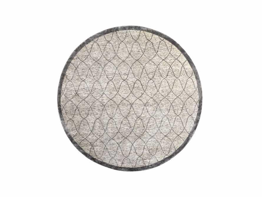 Sloane Hand-Knotted 10' Round Cream Rug, slide 1 of 4