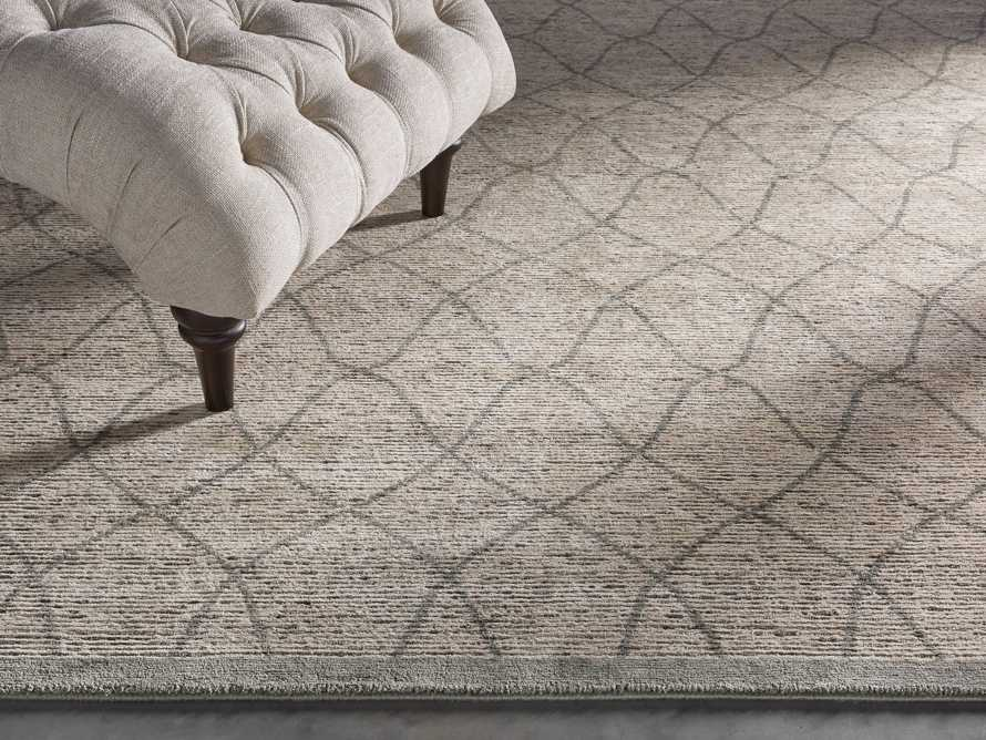 Sloane 8' x 10' Hand Knotted Cream Rug, slide 2 of 6