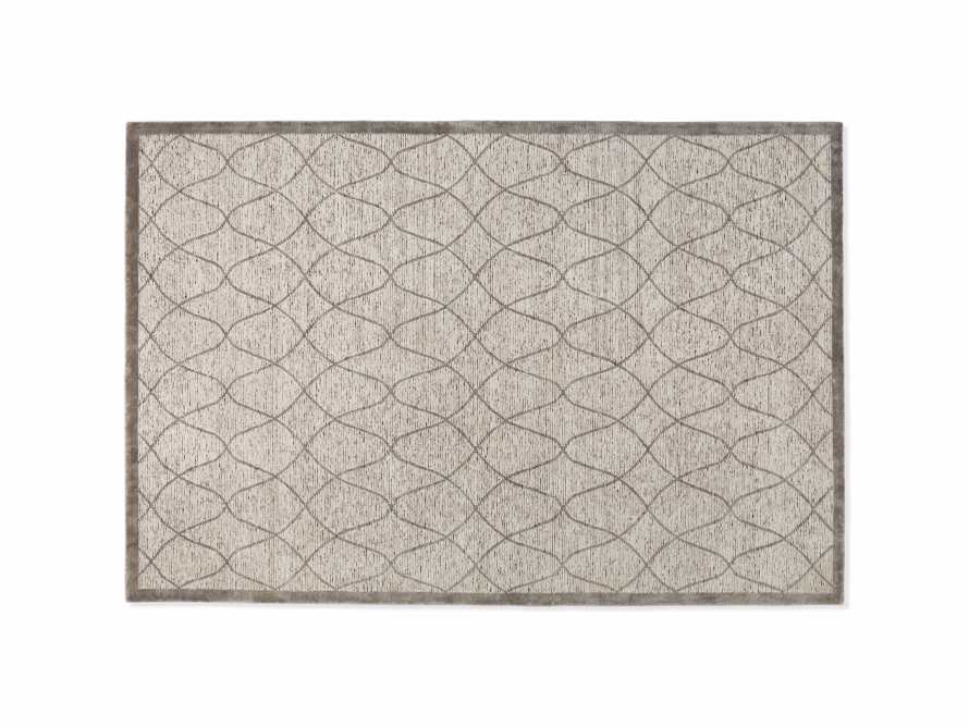 Sloane 8' x 10' Hand Knotted Cream Rug