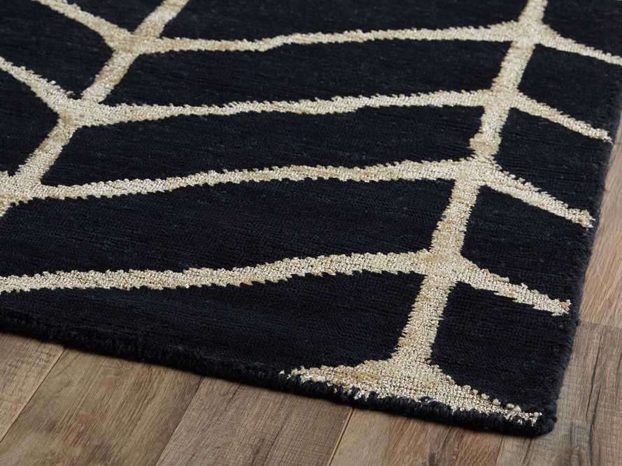 Seville 8' x 10' Hand Knotted Rug in Navy
