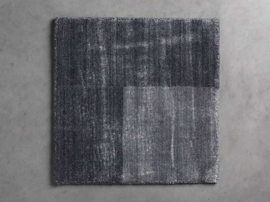 Townsend Handwoven Rug Swatch in Charcoal, slide 1 of 1
