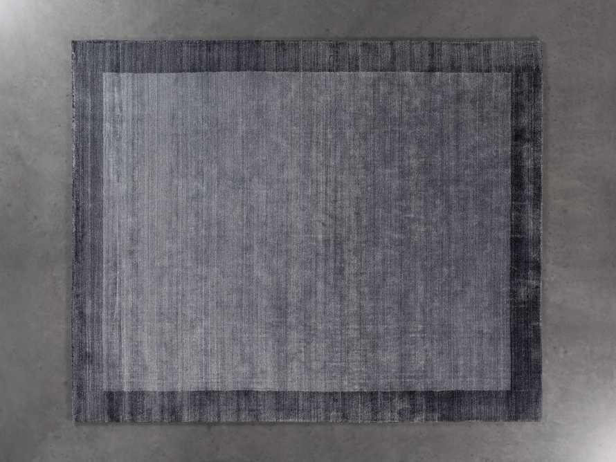 Townsend 6x9 Handwoven Rug in Charcoal, slide 2 of 4