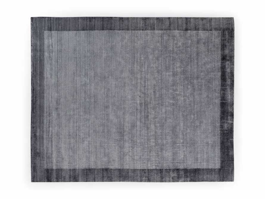 Townsend 6x9 Handwoven Rug in Charcoal, slide 4 of 4