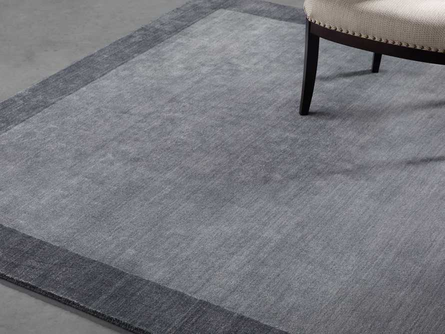 Townsend 6x9 Handwoven Rug in Charcoal, slide 1 of 4