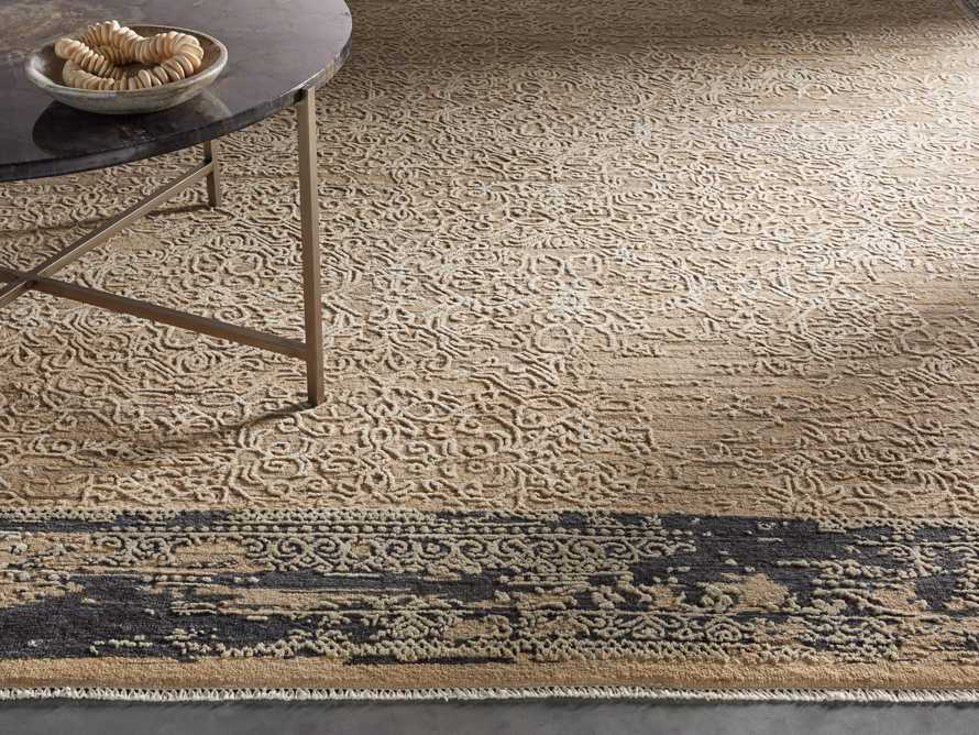 Grayson 8'x 10' Hand Knotted Beige Rug, slide 1 of 6