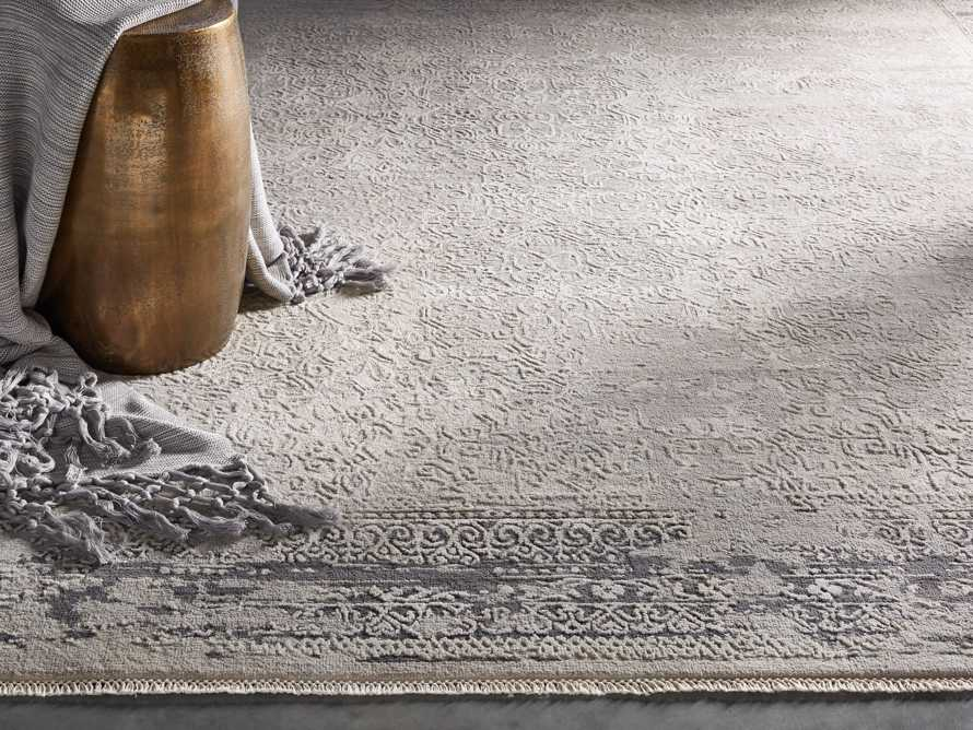 Grayson 8' x 10' Hand Knotted Grey Rug, slide 1 of 10