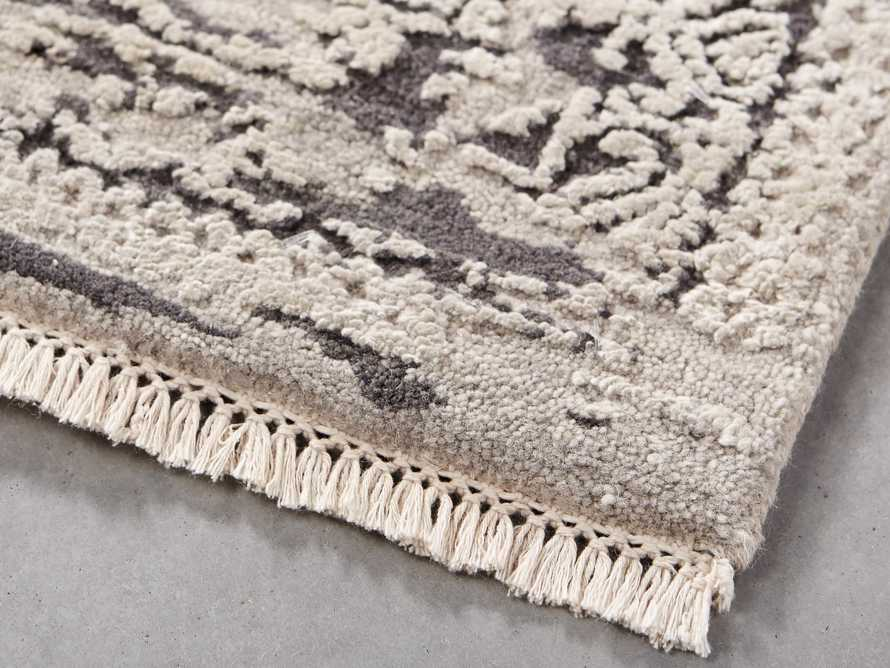 Grayson 8' x 10' Hand Knotted Grey Rug, slide 3 of 10