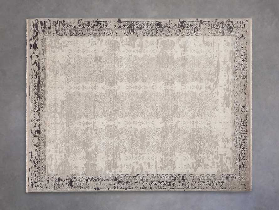 Grayson 8' x 10' Hand Knotted Grey Rug, slide 2 of 8