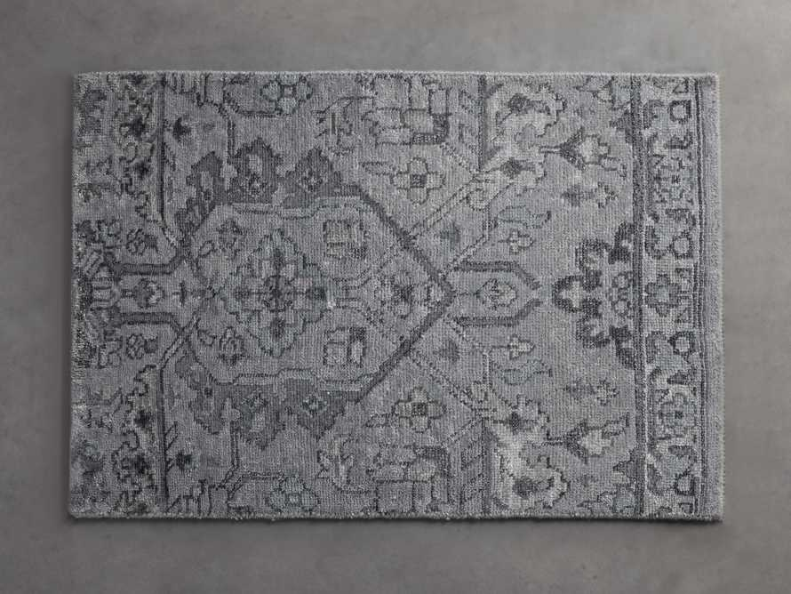 Sienna Hand-Knotted Rug Swatch in Blue, slide 1 of 1