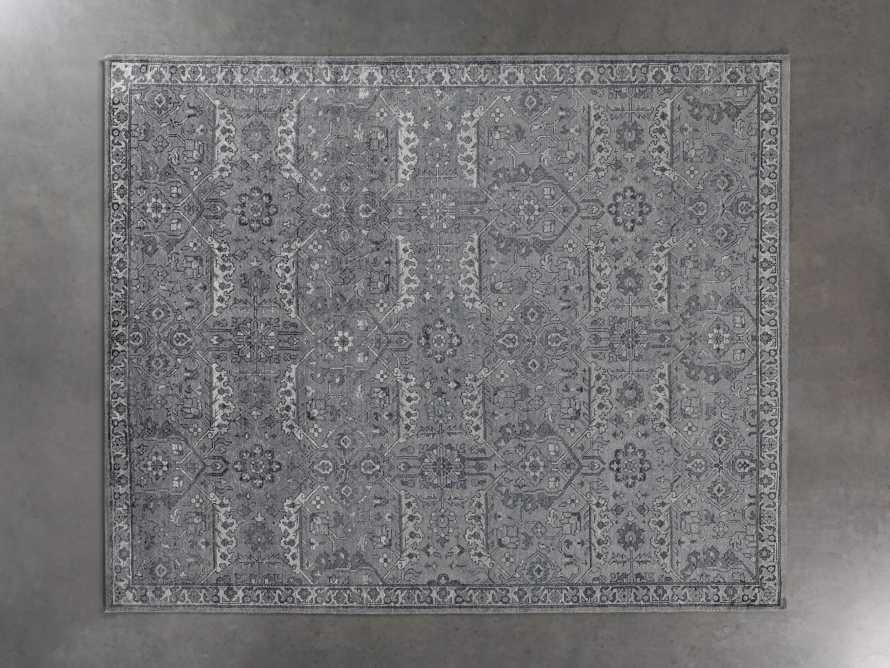 Sienna Hand-Knotted 8x10 Rug in Blue, slide 2 of 5