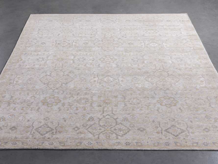 Sienna Hand Knotted 9x12 Rug in Grey, slide 2 of 4