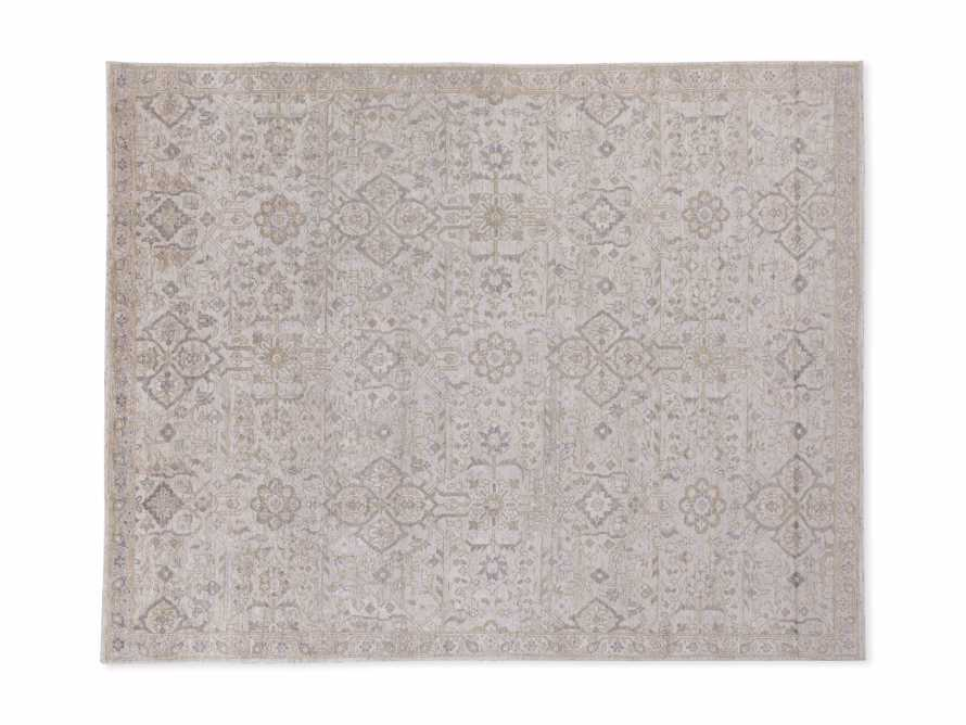 Sienna Hand Knotted 9x12 Rug in Grey, slide 4 of 4