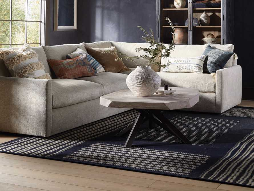 6' x 9' Wellgate Handknotted Rug, slide 6 of 7