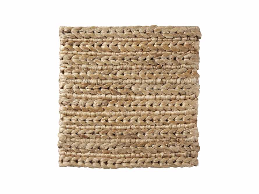 "Braided Jute Handwoven 18"" Rug Swatch"