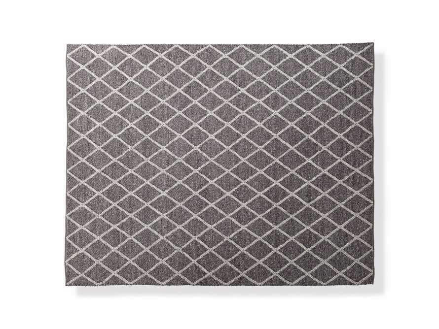 Canyon 6' x 9' Handwoven Rug in Graphite, slide 1 of 3