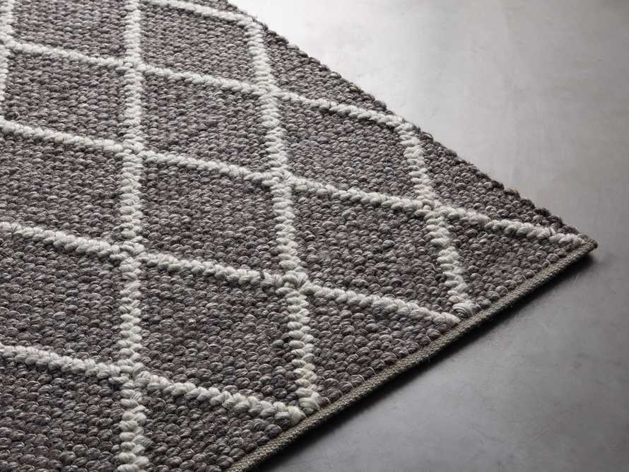 Canyon 6' x 9' Handwoven Rug in Graphite, slide 3 of 3