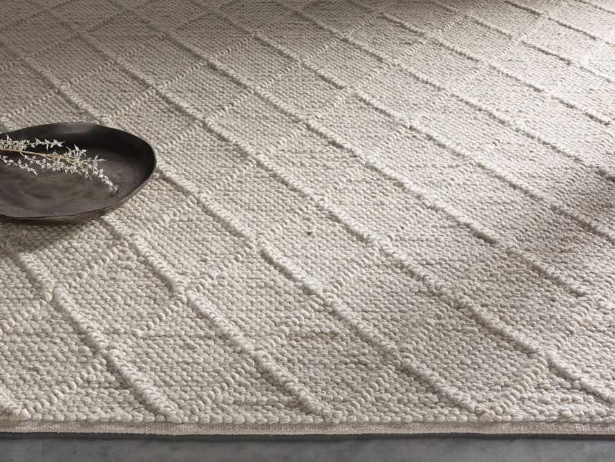 Canyon 6' x 9' Handwoven Rug in Ivory, slide 1 of 8