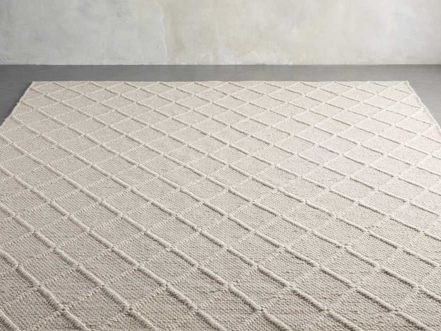 Canyon 6' x 9' Handwoven Rug in Ivory, slide 2 of 8