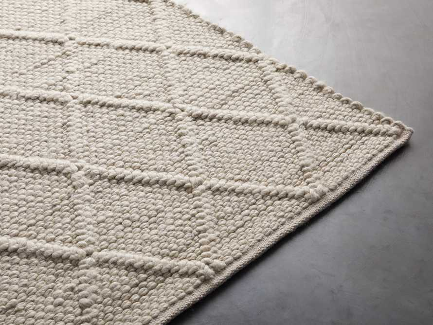Canyon 6' x 9' Handwoven Rug in Ivory, slide 3 of 8