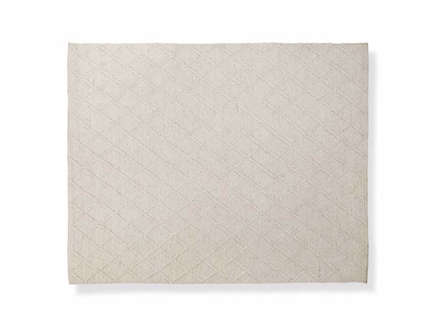 Canyon 6' x 9' Handwoven Rug in Ivory