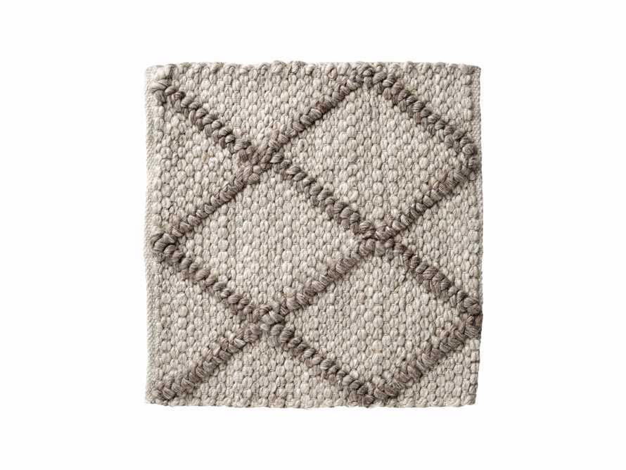 "Canyon Handwoven 18"" Rug Swatch in Mocha, slide 1 of 1"