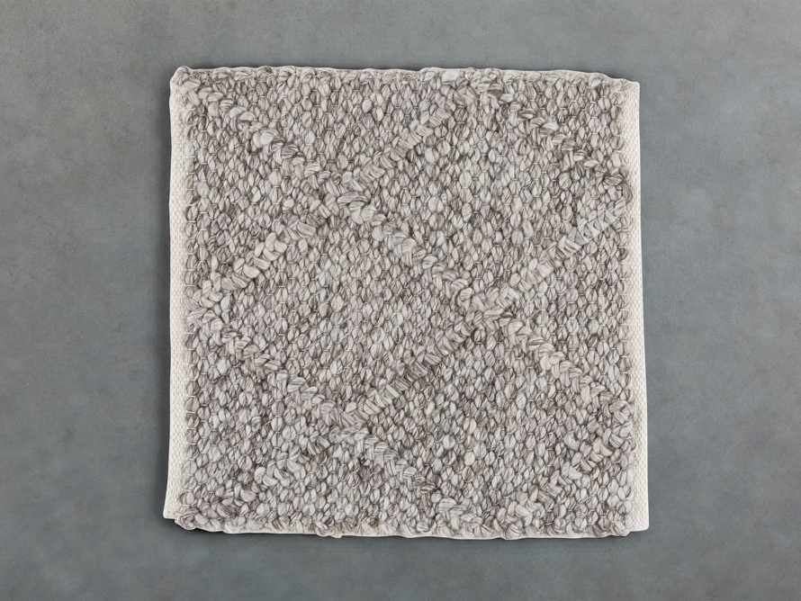 Canyon Rug Swatch in Silver, slide 1 of 1