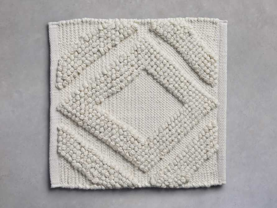 Capitola Performance Rug Swatch in Ivory, slide 1 of 1