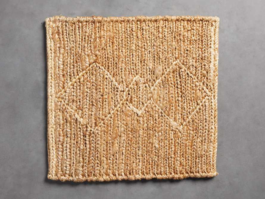 Dalton Handwoven Rug Swatch in Natural