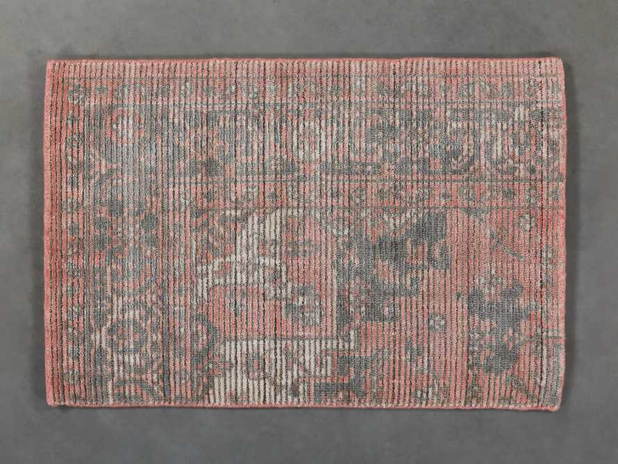 "Nadia 18"" Hand Woven Rug Swatch"