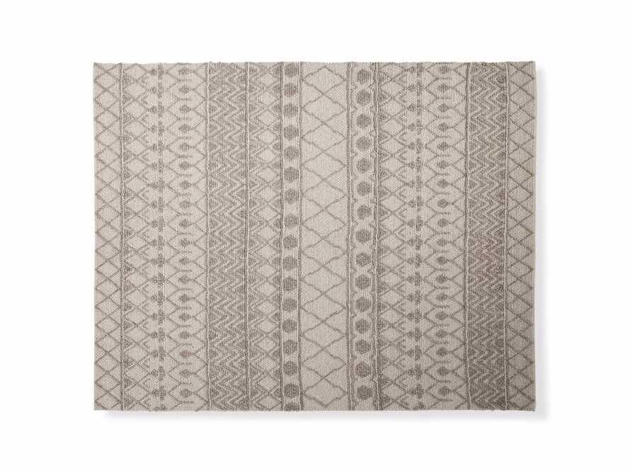 Shilo 8' x 10' Handwoven Rug in Mocha, slide 2 of 3