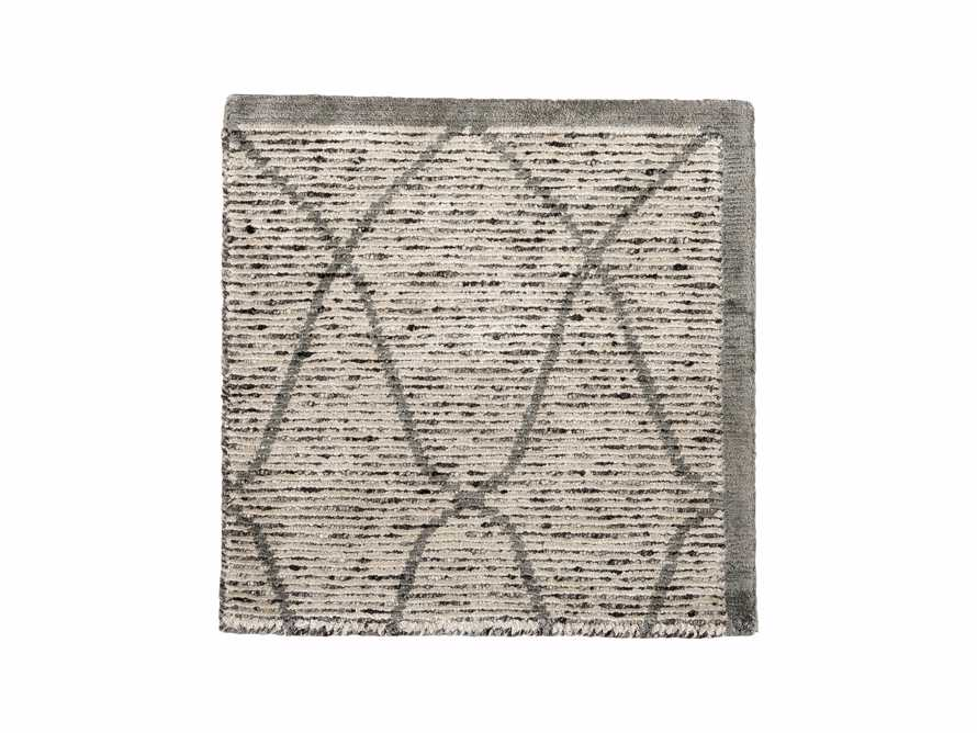 "Sloane 18"" Hand Knotted Cream Rug Swatch, slide 1 of 1"