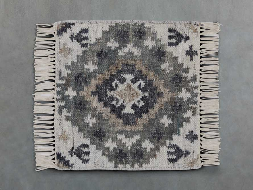 Tanner Rug swatch in Ivory/Taupe