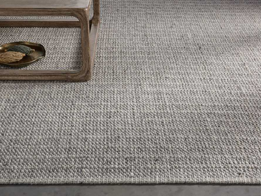 Valencia 9' x 12' Handwoven Rug in Grey Product Image