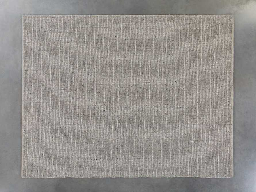 Valencia 6' x 9' Handwoven Rug in Grey