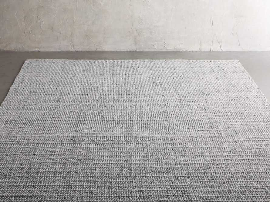 Valencia 10' x 14' Handwoven Rug in Ivory, slide 2 of 6