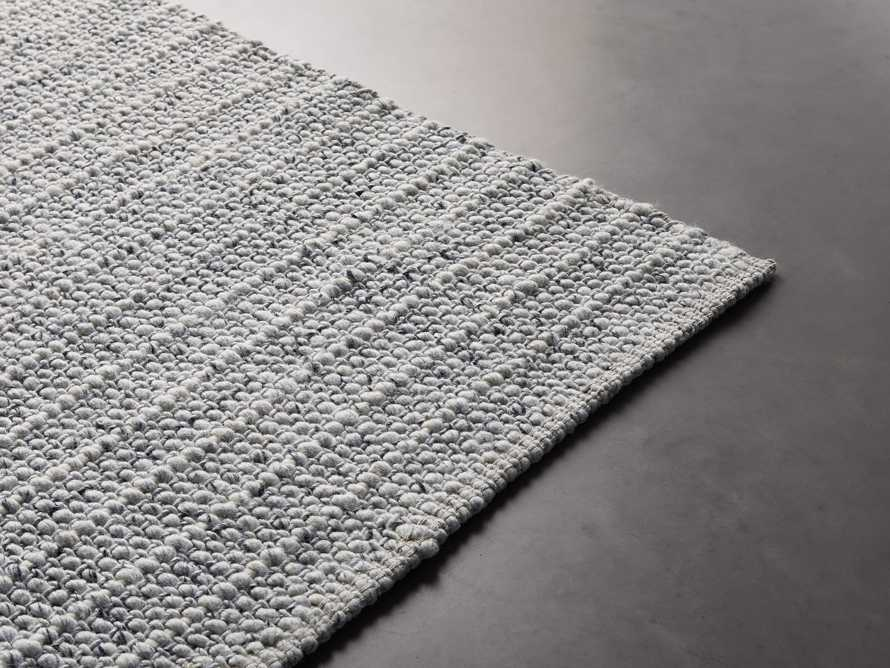 Valencia 10' x 14' Handwoven Rug in Ivory, slide 3 of 6
