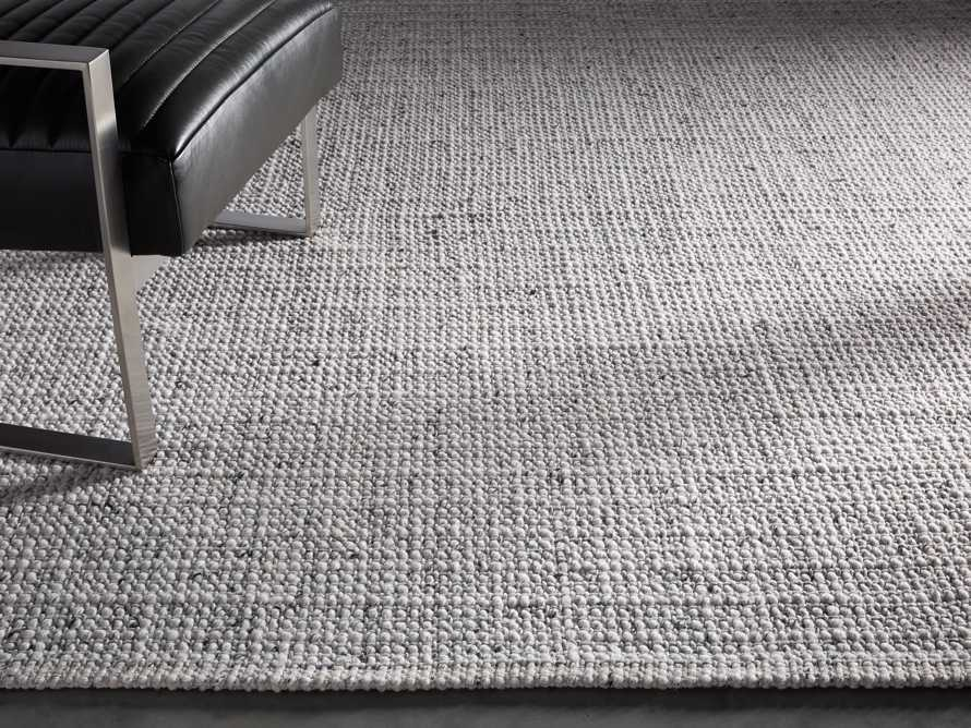 Valencia 6' x 9' Handwoven Rug in Ivory