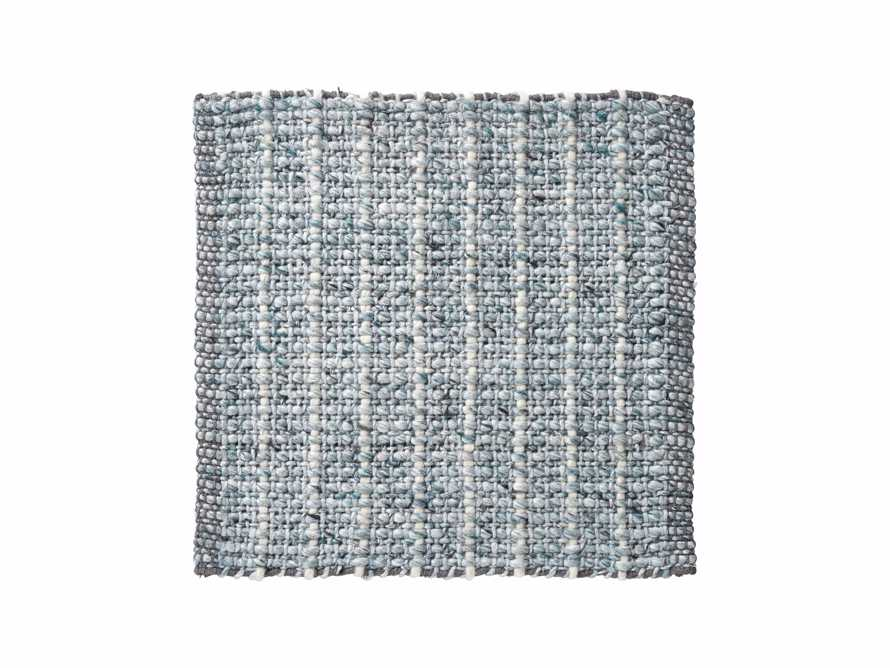 Valencia Handwoven 18in Rug Swatch in Marine Product Image