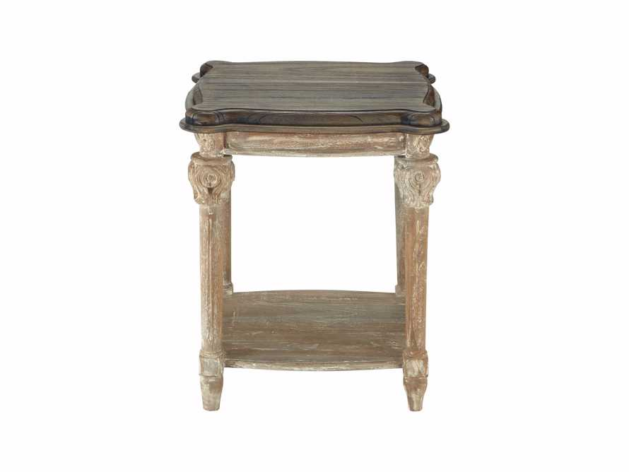 "Teak 22"" End Table"