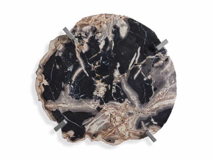 Petrified Accent Table