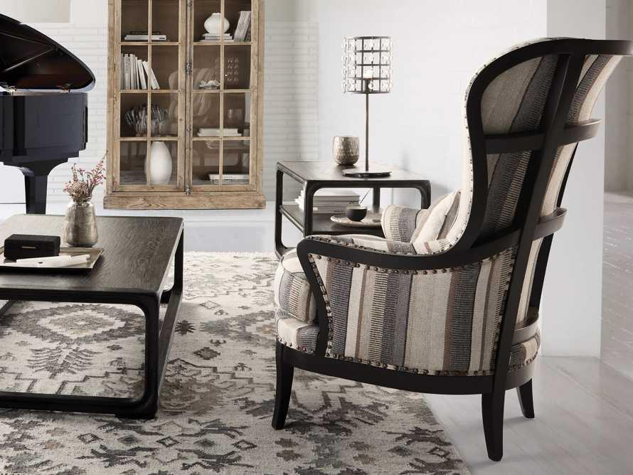 "Portsmouth Upholstered 32"" Chair in Amarillo Graphite, slide 1 of 10"