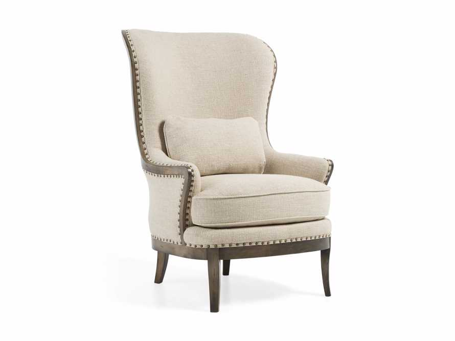"""Portsmouth 32"""" Upholstered Chair in 8402 Natural, slide 4 of 8"""