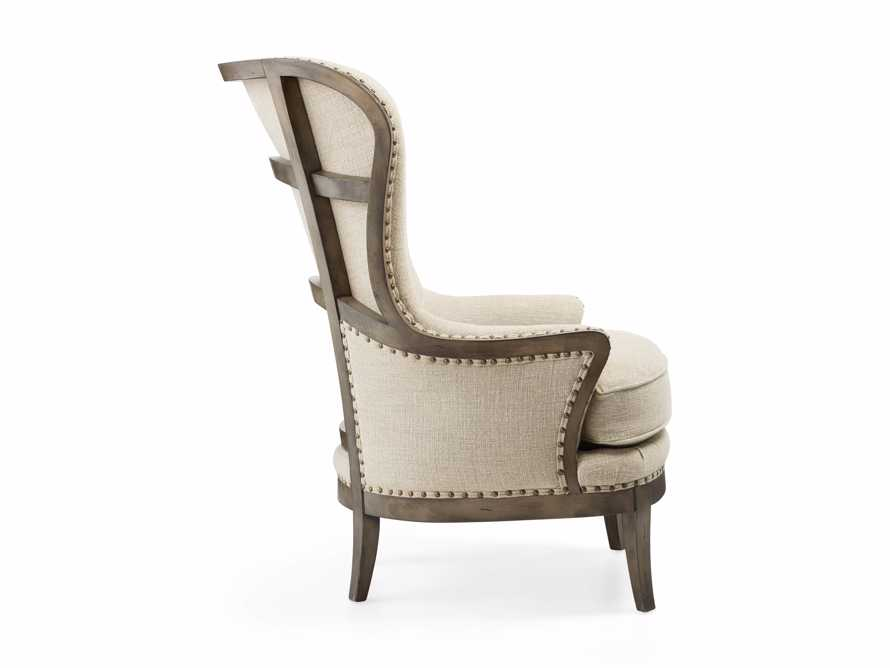"""Portsmouth 32"""" Upholstered Chair in 8402 Natural, slide 5 of 8"""