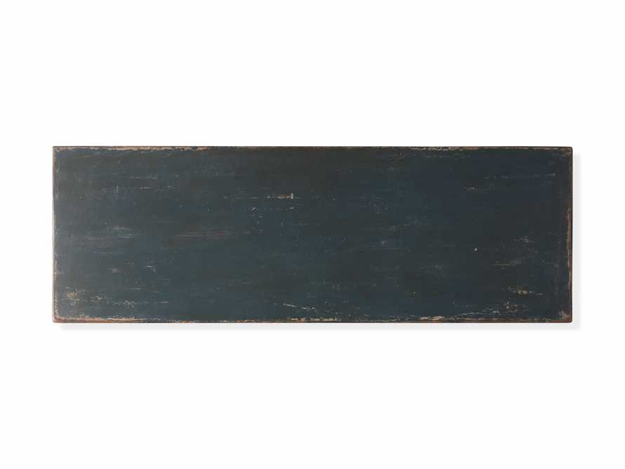 """Amalfi 63"""" Six Chest Drawer in Blue Grigio with White, slide 5 of 6"""