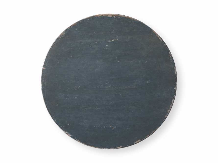 "Amalfi 20"" Round Side Table in Blue Grigio, slide 5 of 5"