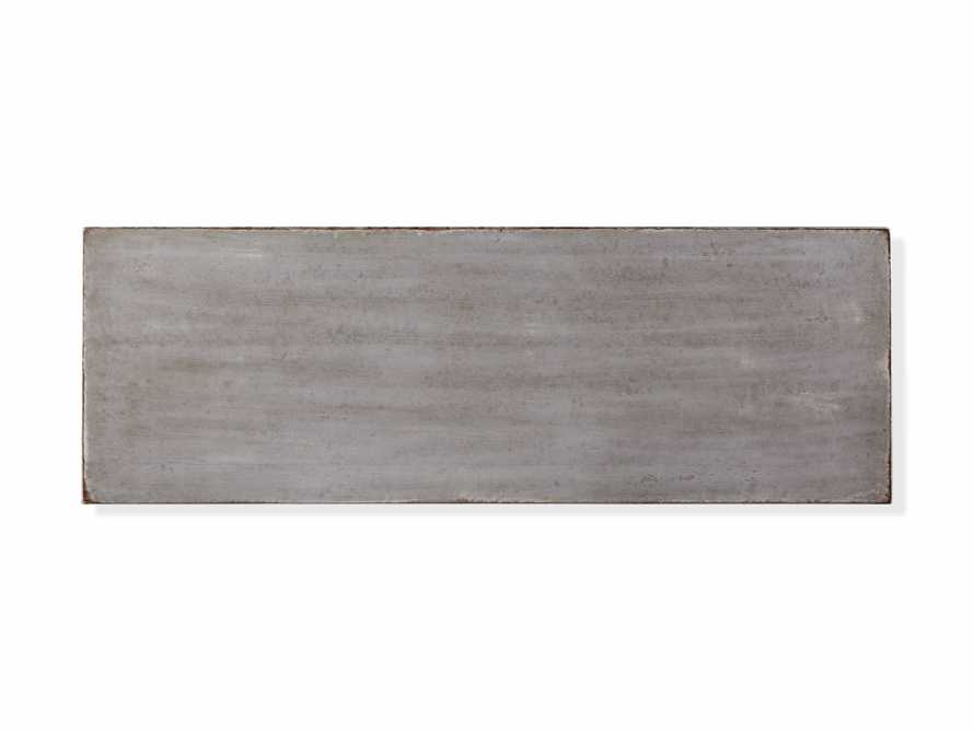 """Amalfi 63"""" Six Chest Drawer in Dolphine Grey with Bianco, slide 4 of 4"""
